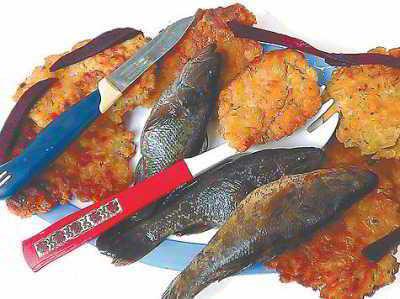 Рыбные блюда украинской народной кухни