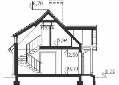 Простые проекты одноэтажных домов