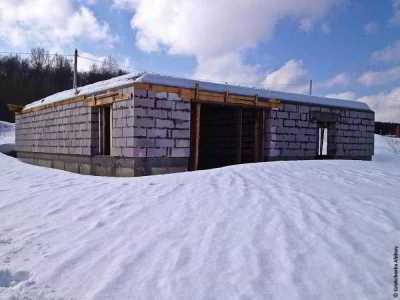 Строительство дома из газобетона своими руками