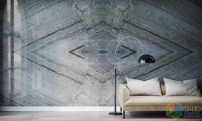 Натуральный камень на стенах