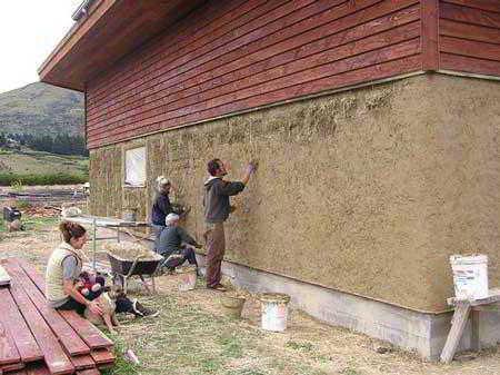 Как сделать стены дома своими руками